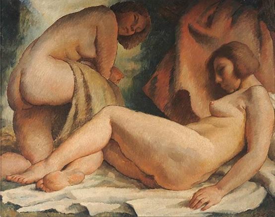Marco Bontá Costa (1899-1974) – En el baño