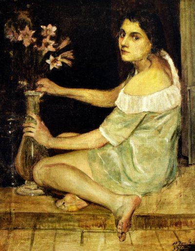 Retrato de Leonila Bontá Costa.