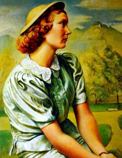 Retrato de Lily Garafulic Yankovic, 1937.