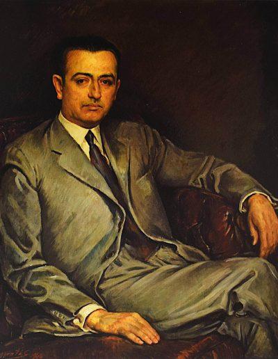 Retrato de Juvenal Hernández Jaque, 1946.