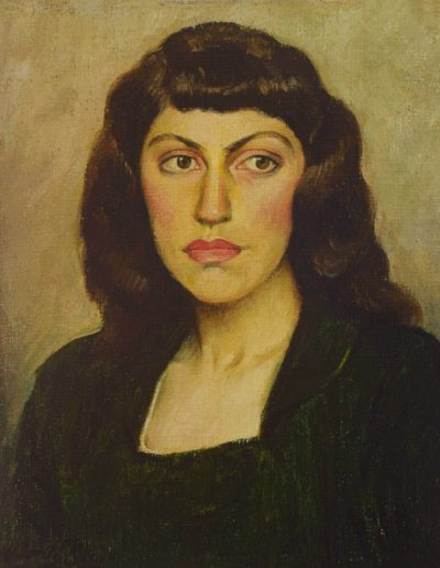 Retrato de Amelia Rodríguez Bontá, c. 1949.