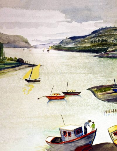 Paisaje de Valdivia, 1964.